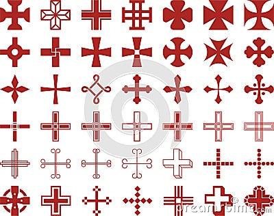 Ensemble de croix ized