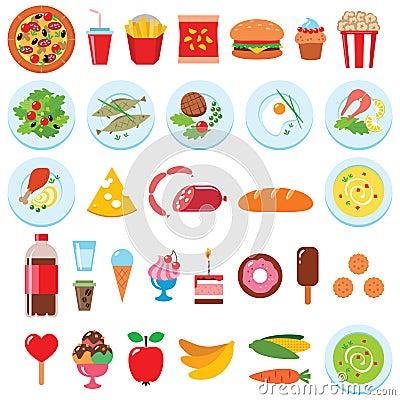 Ensemble de nourriture