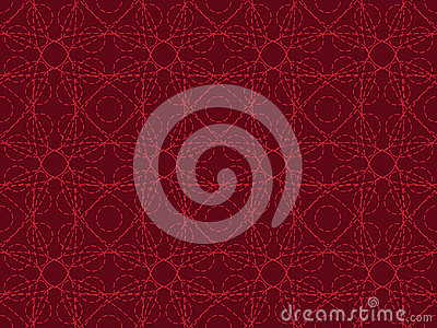 Entangled lines pattern