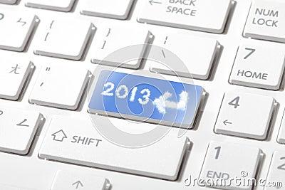 Enter 2013 happy new year