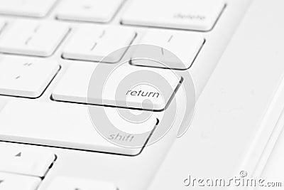 Enter key on a computer