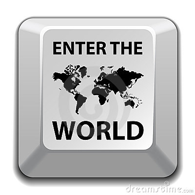 Enter the world key