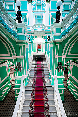 Enterance in russian palace