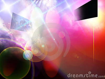 Entertainment Background Royalty Free Stock Photography