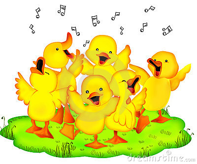 Entertainment ducklings