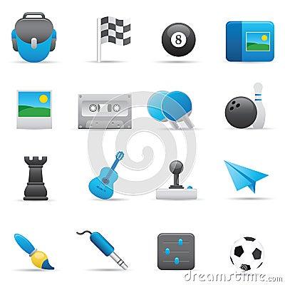 Free Entertainment Icons | Indigo Series 02 Stock Images - 14928744