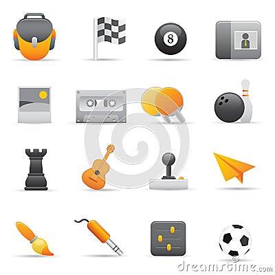 Entertainment Icons   Yellow 02