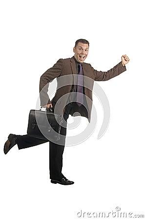Free Enthusiastic Employee Stock Image - 543271