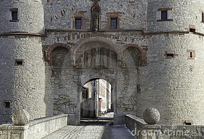 Entrance Fortress Marienberg