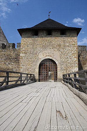 Entrance gate to ancient fortress