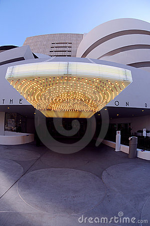 Entrance at Guggenheim Editorial Photography