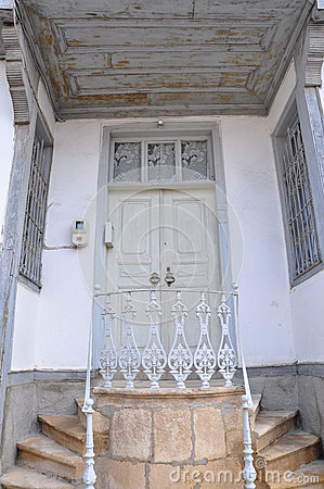 Entrance of a house