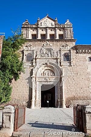 Free Entrance In Museum  Santa Cruz In Toledo, Spain Royalty Free Stock Photo - 16636125
