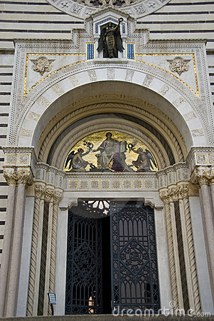 Entrance of the Monumental Cemetery,Milan,Italy