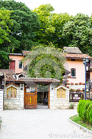 Free Entrance Of Monastery St.St. Constantine And Helena Near Varna, Stock Images - 56533954
