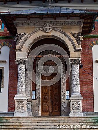 Entrance in Sinaia Monastery
