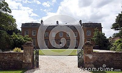 Entrance to Farnborough Hall