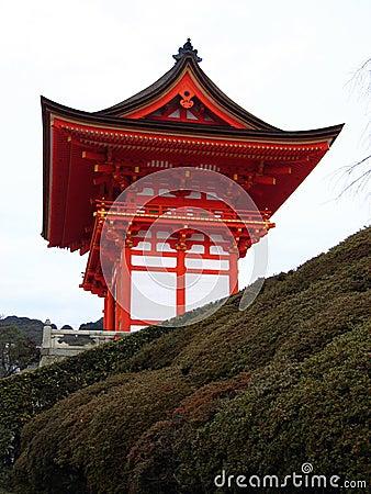 Entrance to Kiyomizu-dera Temple - Kyoto, Japan
