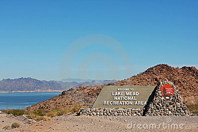 Entrance to Lake Mead National Recreation Area