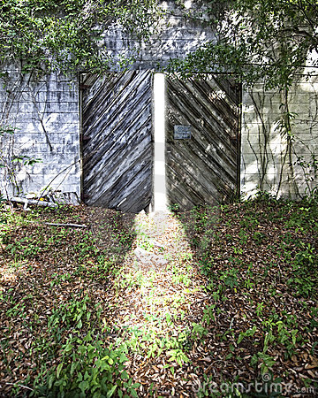 Entrance to light