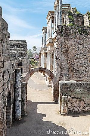 Entrance to roman amphitheatre