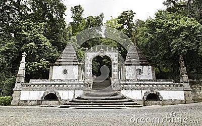 Entrance to sanctuary