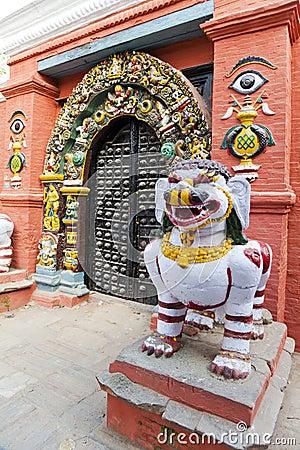 Entrance to Sundari Chowk, Kathmandu, Nepal