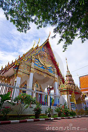 Entrance to the temple