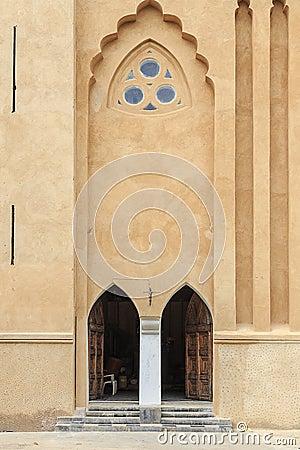 Free Entrance To The Christ Church - Zanzibar Royalty Free Stock Images - 52590829