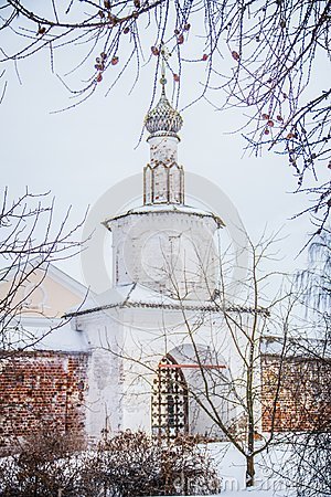 Free Entrance To The Intercession Monastery Royalty Free Stock Images - 105984469