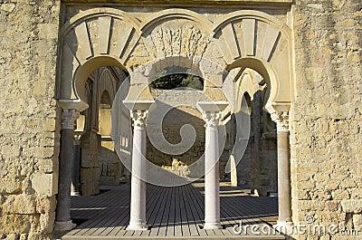 Entrance of Upper Basilic Building.