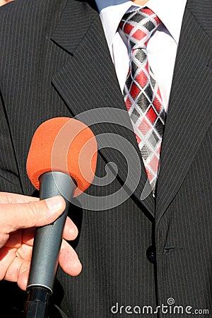 Entrevista de la TV