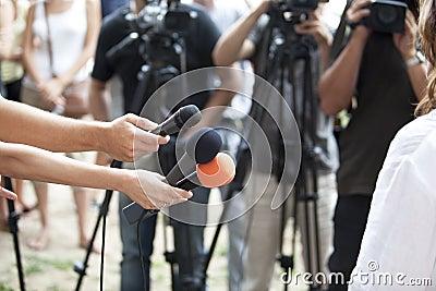 Entrevue de medias