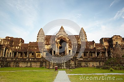 Entry in Angkor Wat