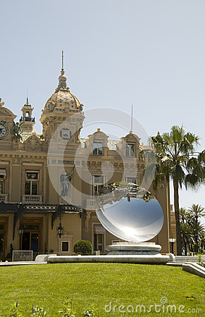 Entry famous cafe  architecture Monte Carlo