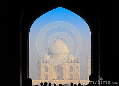 Entry gate to Taj Mahal
