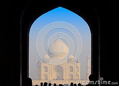 Entry gate to Taj Mahal