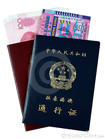Entry Permit to Hong Kong and Macau