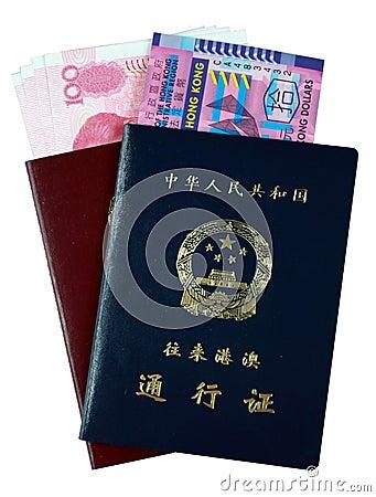 Entry Permit to Hong Kong and Macau