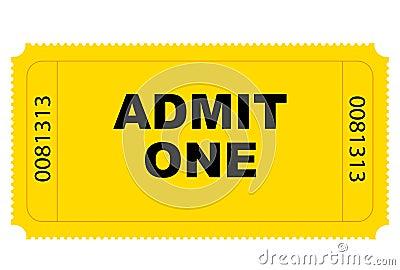 Entry Ticket Vector