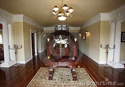 Entry way in house
