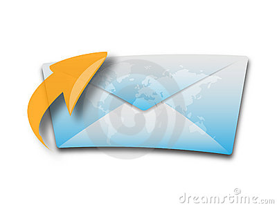 Envelop or e-mail icon