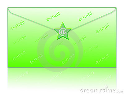 Envelop and email symbol