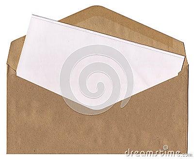 Envelope _ Blank letter
