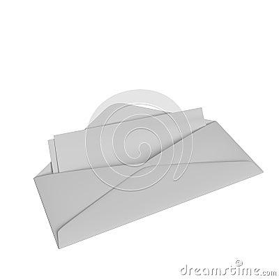 Envelope with checks