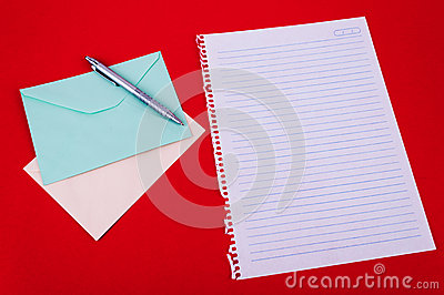 Envelope of correspondence