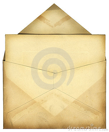 Envelope do vintage