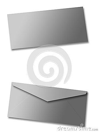 Envelope em branco