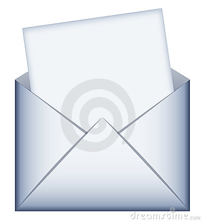 Envelope with empty message