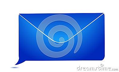 Envelope message bubble